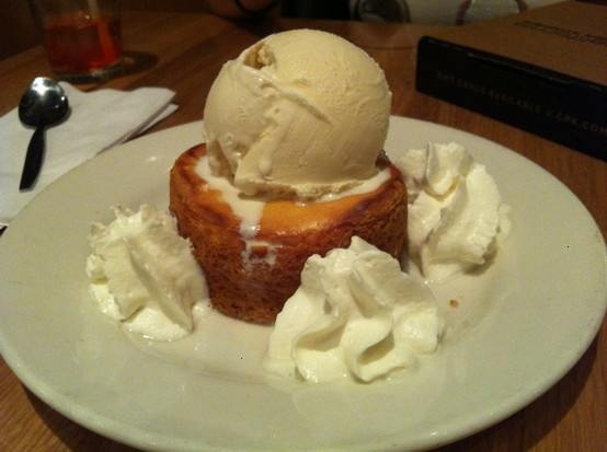 Butter cake from cali. pizza kitchen