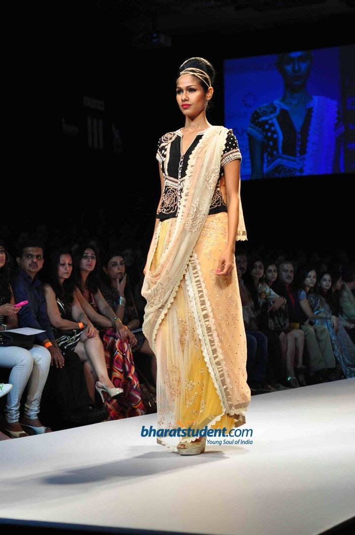 Krishna Mehta Show at Lakme Fashion Week Winter/Festive 2012