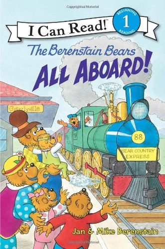 The Berenstain Bears: All Aboard! (I Can Read Book 1) by Jan Berenstain http://www.amazon.com/dp/0060574186/ref=cm_sw_r_pi_dp_IZQOvb192KDYS