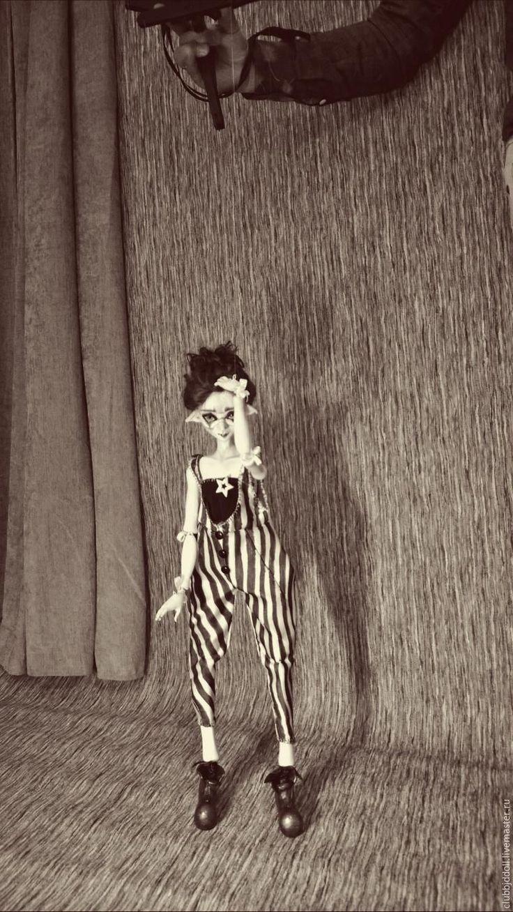 Как создать странного эльфа, или Кукла-марионетка из папье-маше - Ярмарка Мастеров - ручная работа, handmade