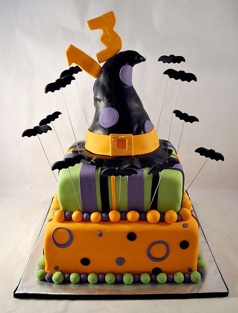 Creative Cakes By Allison Halloween Birthday Via Flickr Fondant CakeHalloween