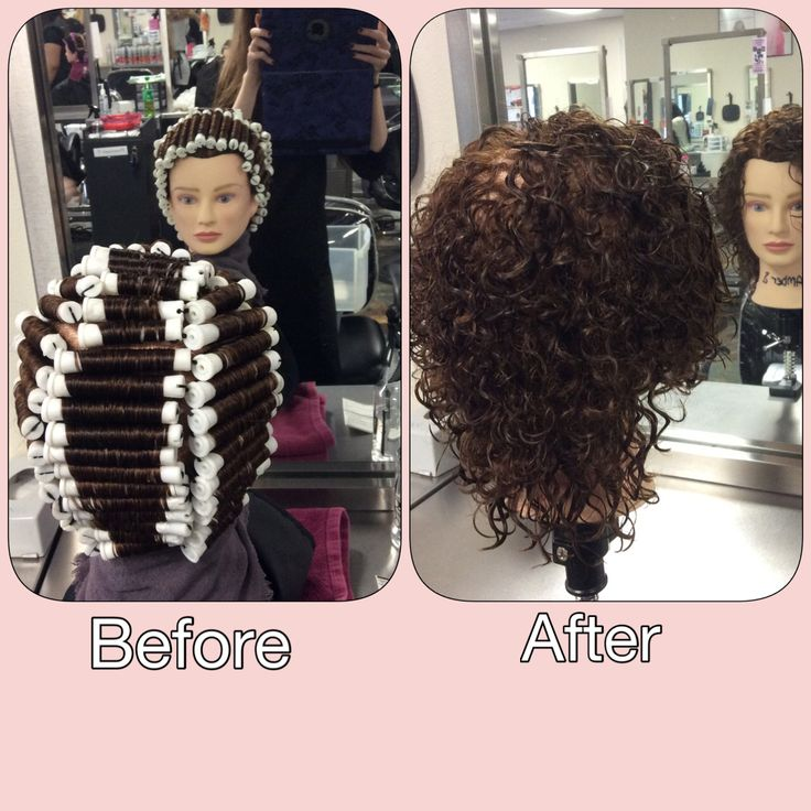 I Ve Done An Alkaline Base Single Halo Perm Wrap On