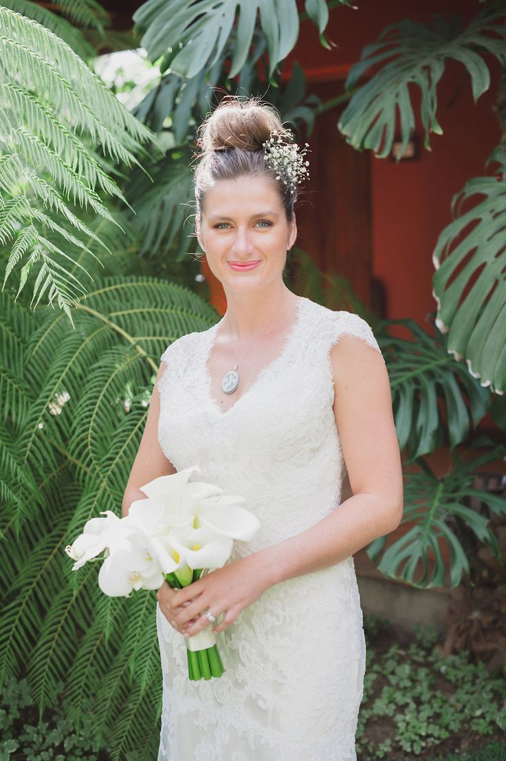 Stunning bride for a stunning Guatemala wedding. Photography: Stacy Able - stacyable.com  Read More: http://www.stylemepretty.com/destination-weddings/2014/05/07/romantic-guatemala-wedding-at-san-jose-el-viejo/