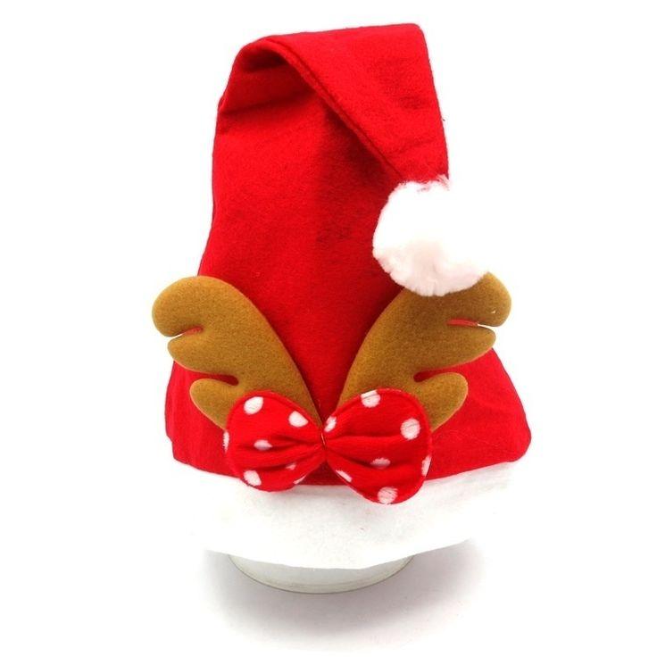 Santa Claus Hat Christmas Antlers Hat