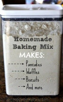 Homemade Bisquick Baking Mix Recipe Homesteading  - The Homestead Survival .Com
