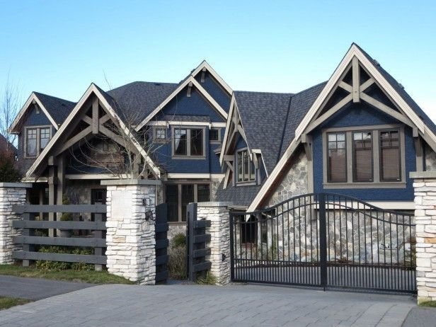 Best 9 Best Stone And Cedar Homes Images On Pinterest Cottage 400 x 300