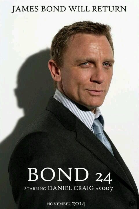 JAMES BOND 007 :: Actor Daniel Craig Returns in the 24th Bond Film Set For November 2015 (Update) with Director Sam Mendes