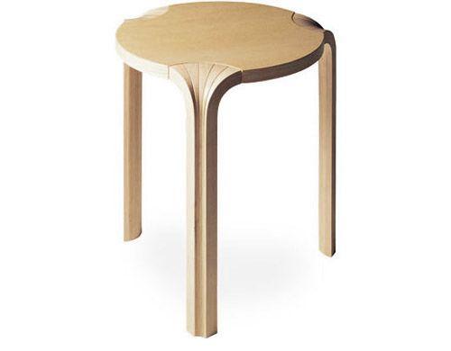 Artek stoolx600 by Alvar Aalto