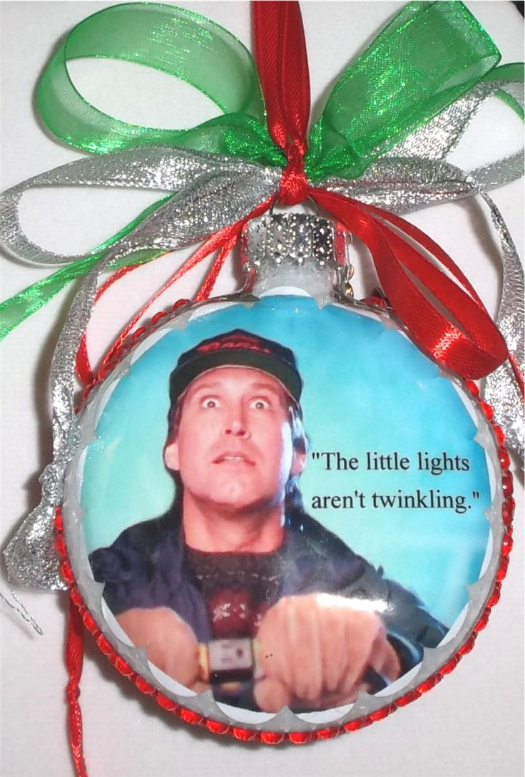 Christmas Vacation Inspired Tribute Christmas Ornament Quotes 6