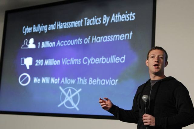 Facebook to Ban Atheism Due to Cyber Bullying | IFLScience