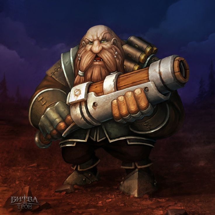 Dwarf by Sephiroth-Art on DeviantArt