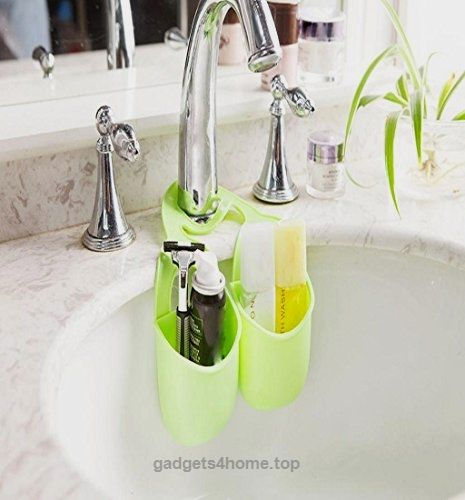 Toy Kitchen Accessories Accessories Shop Bathroom Gadgets Kitchen Gadgets Kitchen Stuff Sponge Holder Soap Holder Hanging Storage Soap Dishes