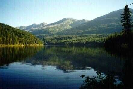 Seeley Lake in Montana