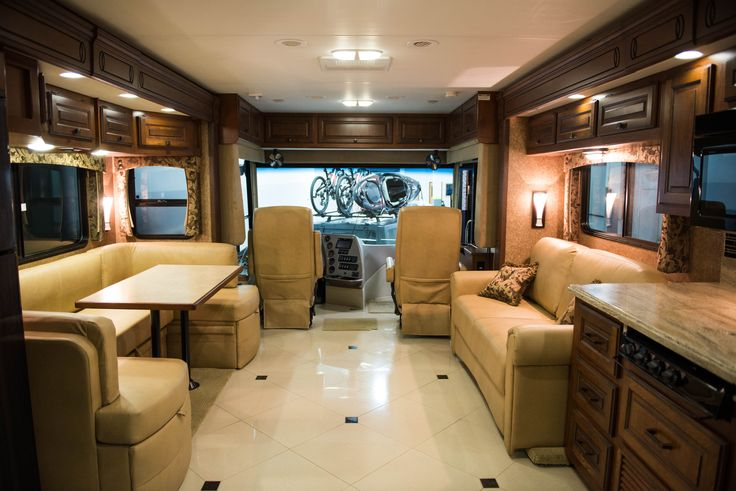 Beautiful Interior On The Berkshire Luxury Rv Winner Of