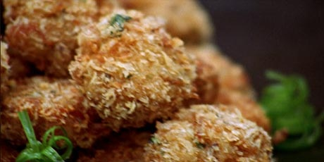 Shrimp and crab cakes / ginger lime dipping sauce | Appetizers ...