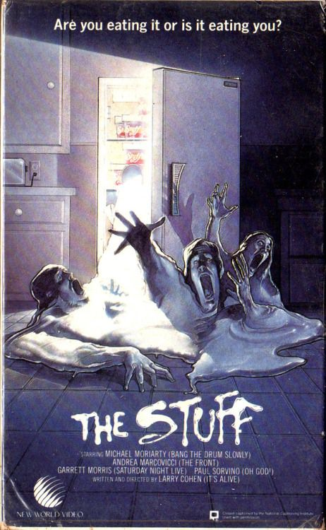 thefugitivesaint:The Stuff dir. by Larry Cohen New World...