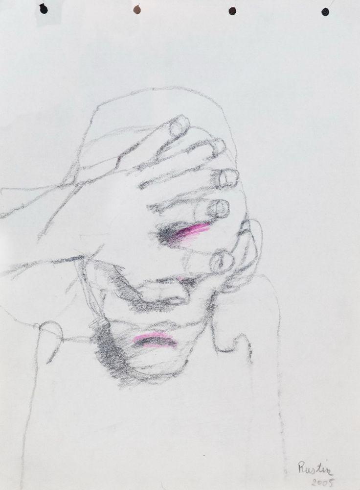 Jean Rustin - drawing