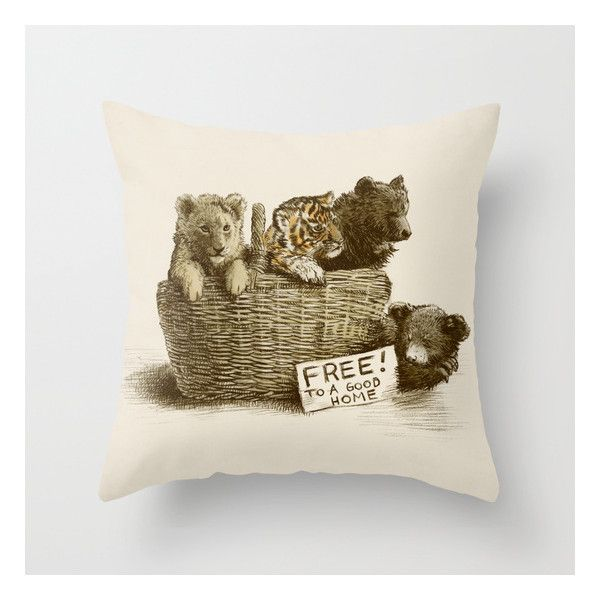 Bear Home Decor Pillows Bear Throw Pillows Animal Throw Pillows And