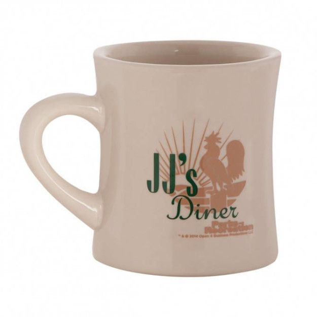 """Or a JJ's mug that people will probably think is from an actual diner.   18 Perfect Gifts For People Who Love """"Parks & Recreation"""""""