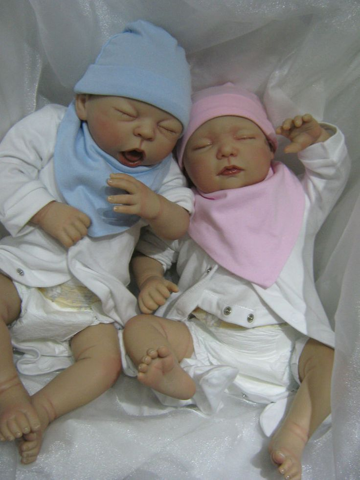 Details About Reborn Baby Twins My Fake Babies Realistic