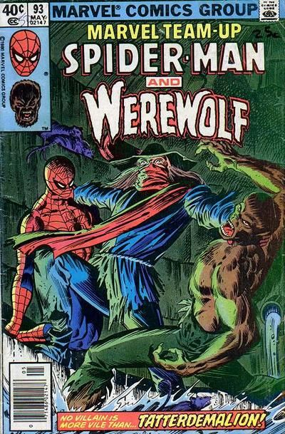 marvel team up   Marvel Team-Up Vol 1 93 - Marvel Comics Database
