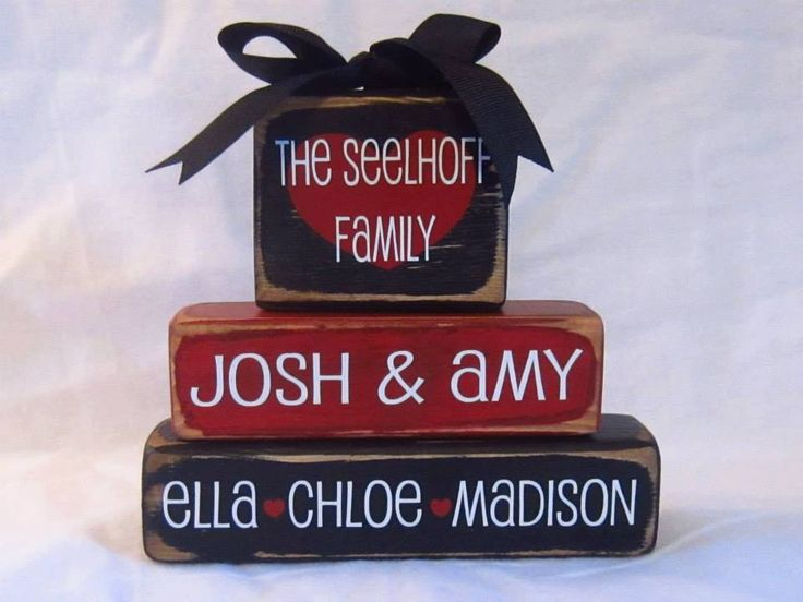 Family Keepsake Name blocks-personalized wood family blocks-family stacking blocks-family name-family wood blocks-stacking name blocks