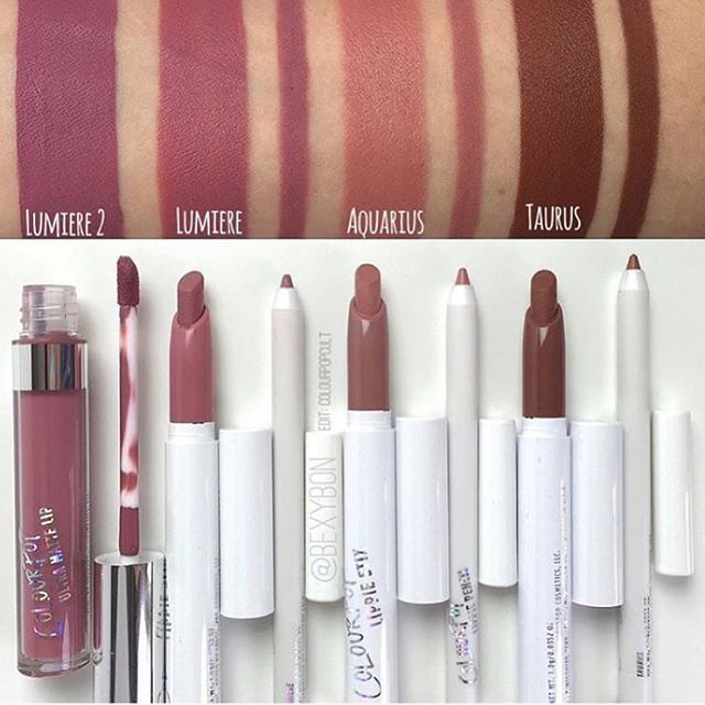 Thank you @bexybon for this cute picture of all my lippies with @colourpopcosmetics  Repost from @colourpopcult