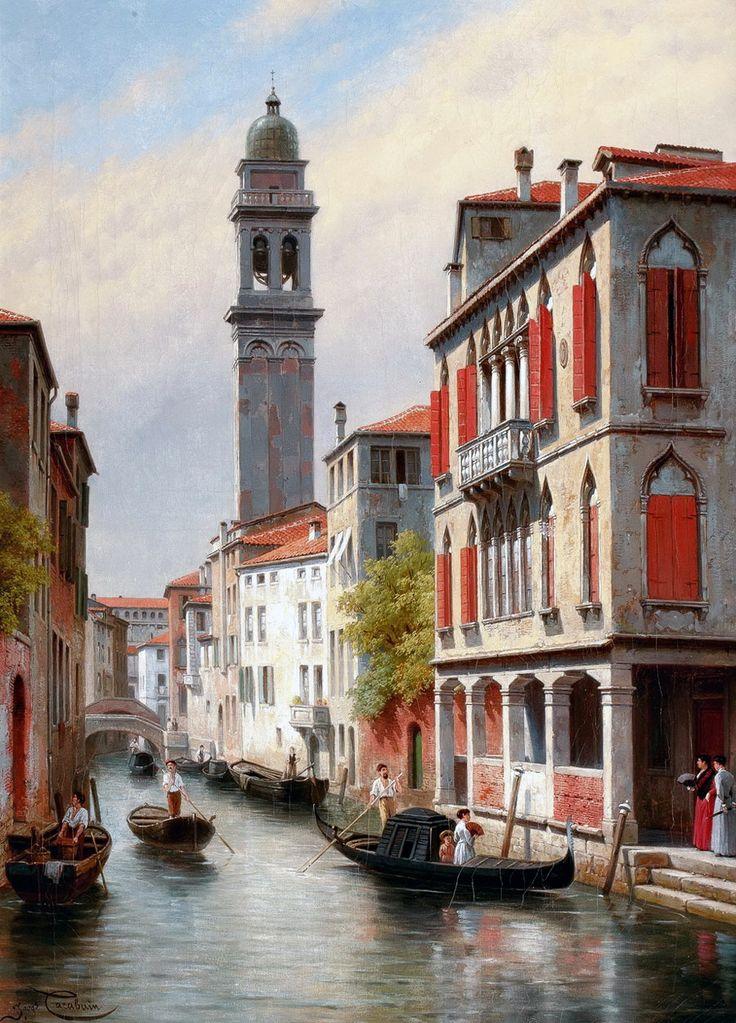 картинки художников венеция правило, отличительной