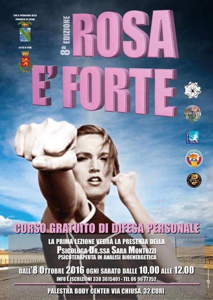 Al via l'8^ edizione del corso gratuito di autodifesa per donne dell'ASD Fight Club Body Center contro le aggressioni di vario genere. Venti le partecipanti