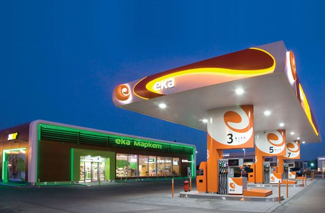 Find Nearest Gas Station >> Eka wins best station of the year | Minale Tattersfield Design Strategy Group | Retail Spaces ...