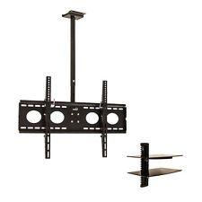 Ceiling Mount TV Bracket 360 Tilt Swivel LED LCD Plasma 32 40 42 50 55 60 Shelf