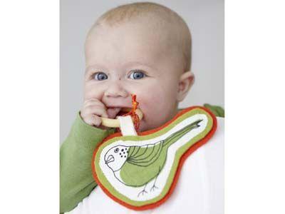 Basteln für Babys: Beißring
