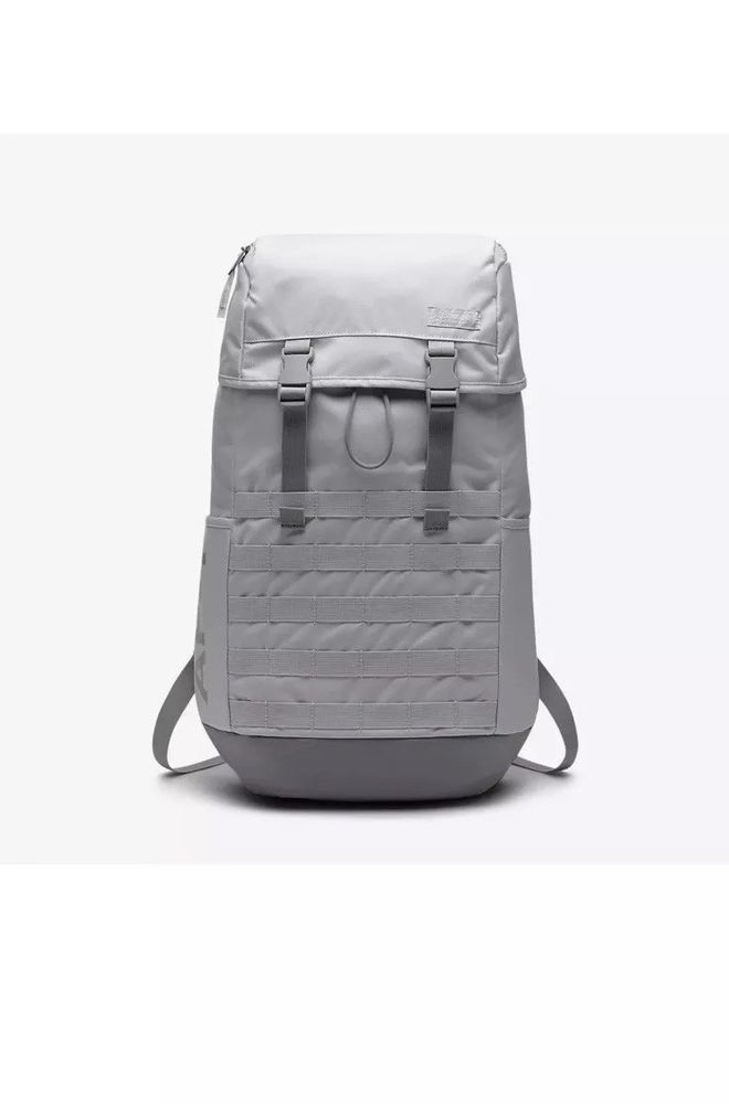 da97ba446f5f Nike AF1 Sportswear Backpack Vast Grey Atmosphere White BA5731-092 Air  Force 1  Nike  Backpack