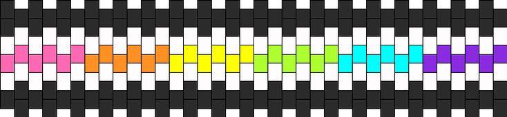 Rainbow Band bead pattern