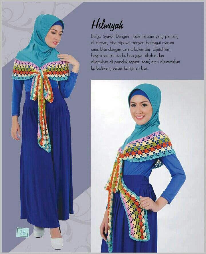 Hijab Rajut HILMIYAH