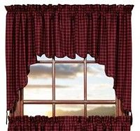 These Lancaster Scalloped Swag Curtains Will Make A Bold Statement In Your  Home. These Country