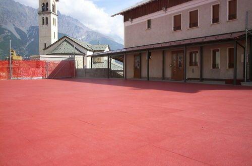 Revêtement de sol en caoutchouc / à usage professionnel / aspect béton / à haute résistance ECO-FLOOR ECOPOLIMER