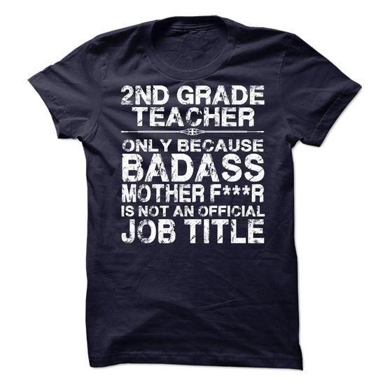 2nd Grade Teacher - #blusas shirt #cute sweatshirt. BEST BUY => https://www.sunfrog.com/LifeStyle/2nd-Grade-Teacher-69923161-Guys.html?60505