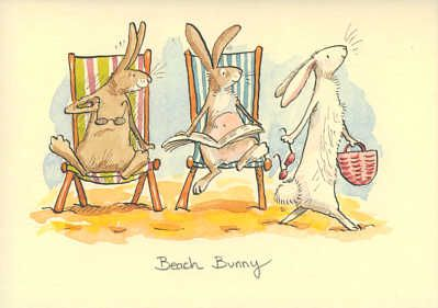 Anita Jeram - Beach Bunny