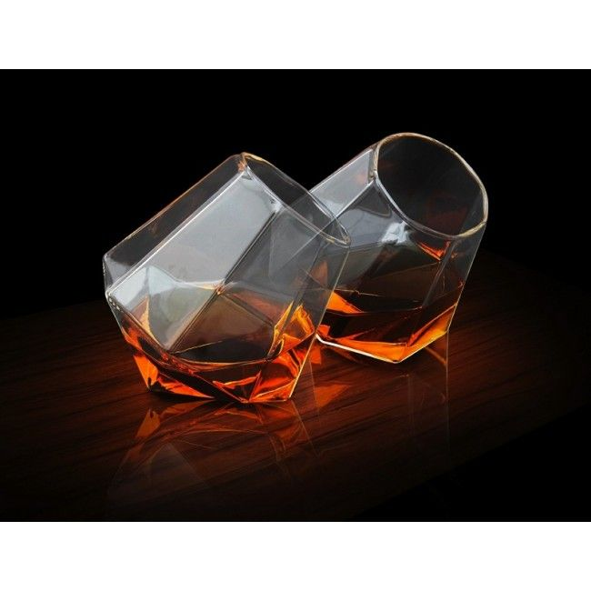 Diamond Shaped Whisky Glasses > Buy Online | The Handpicked Collection