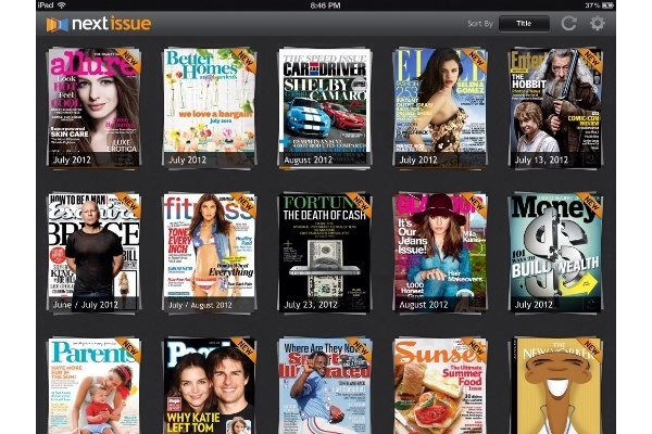 Next Issue's 'Hulu for Magazines Hits the iPad: Issues Media, Issue Hulu