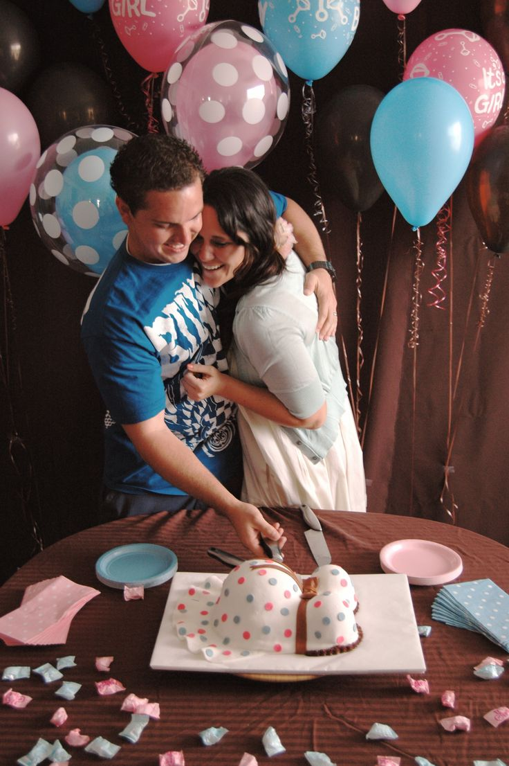 gender reveal party -