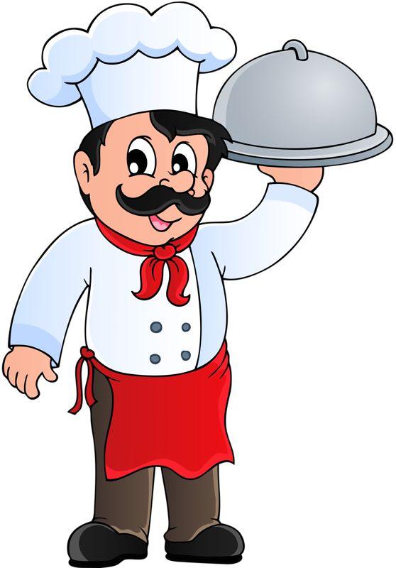 El cocinero, el mesero