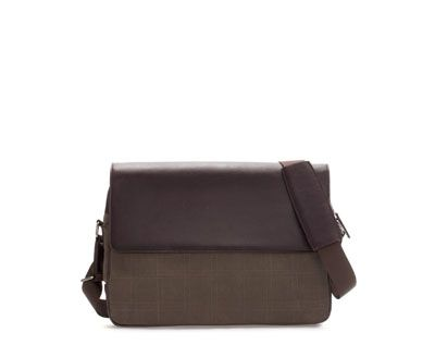 Image 1 of COMBINATION MESSENGER BAG from Zara