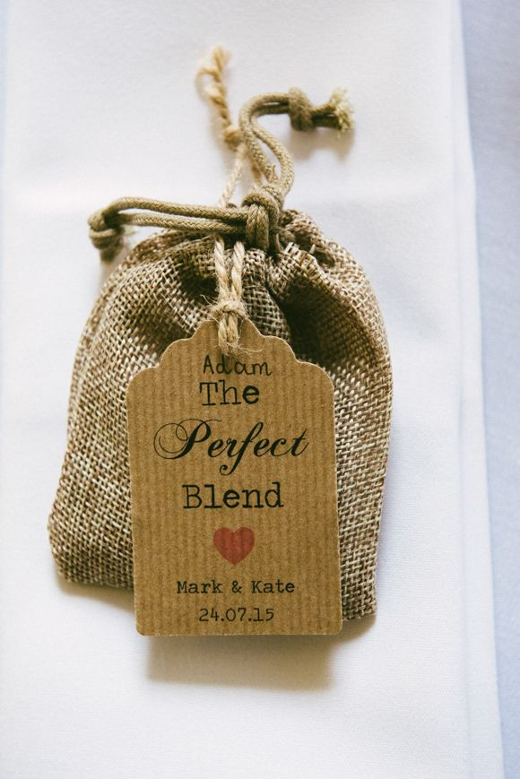 A very English favour idea.. Teabags! Image by @edgodden #wedding #classic…