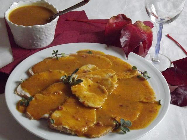 La buona cucina di Katty: Arrosto di tacchino in salsa (con la pentola a…