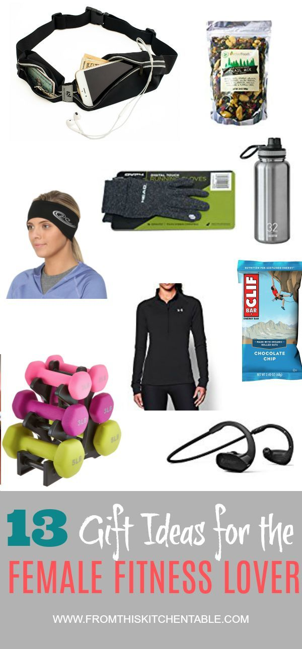 Gift ideas for the female fitness lover #giftguide #giftideas #gifts #presents #christmas #birthday #fitness #frugal #mothersday