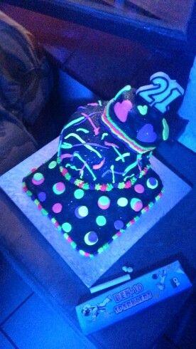Lumo 21st cake