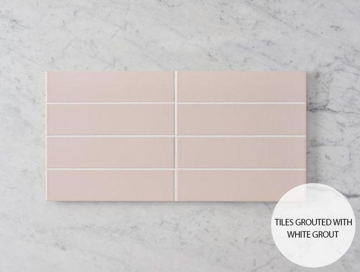 Riverton Matt Pink Subway Tile – No