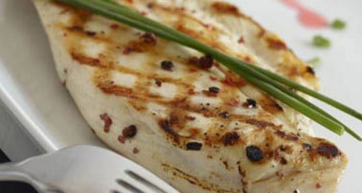 Receta de Pollo con salsa de frambuesas